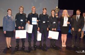 3 miejsce w Ogólnopolskim Turnieju Klas Policyjnych