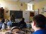 Gimnazjaliści na lekcjach w