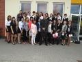 Uroczystość zakończenia nauki dla klas ZSZ