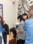 Gimnazjaliści próbowali swoich sił w pracowni fryzjerskiej
