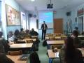 Wizyta studenta Akademii Obrony Narodowej w Warszawie