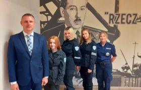 """Laureaci w konkursie """"Policjanci  w służbie historii"""""""