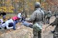 Uczniowie klas wojskowych ćwiczyli z żołnierzami